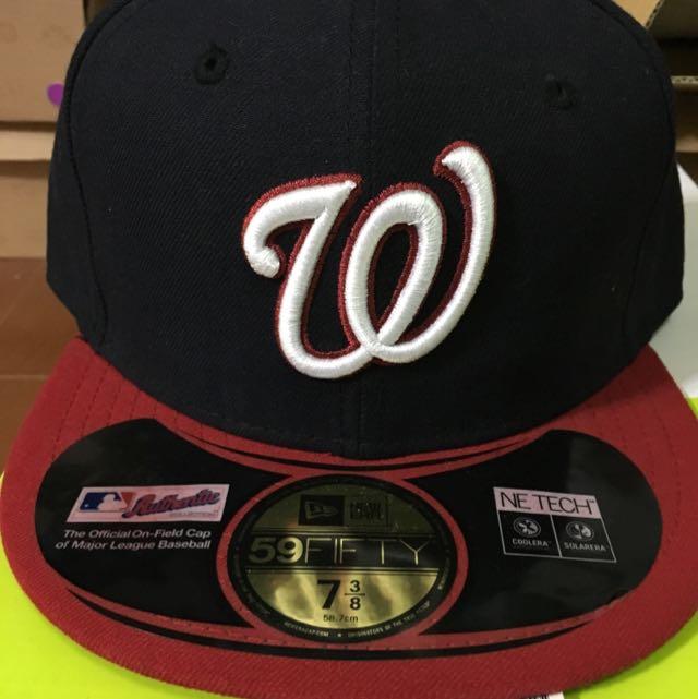 New Era 大聯盟華盛頓國民隊客場球帽