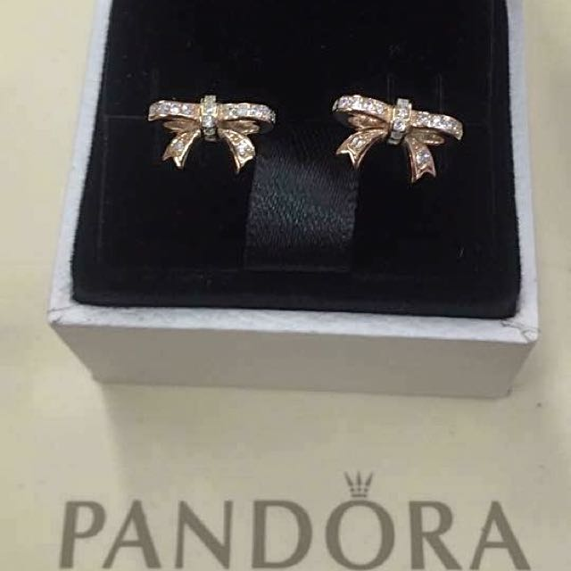 Pandora Earrings! ♥️
