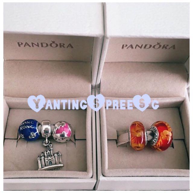 Pandora hong kong disneyland exclusive charms women 39 s for Pandora jewelry commercial 2017
