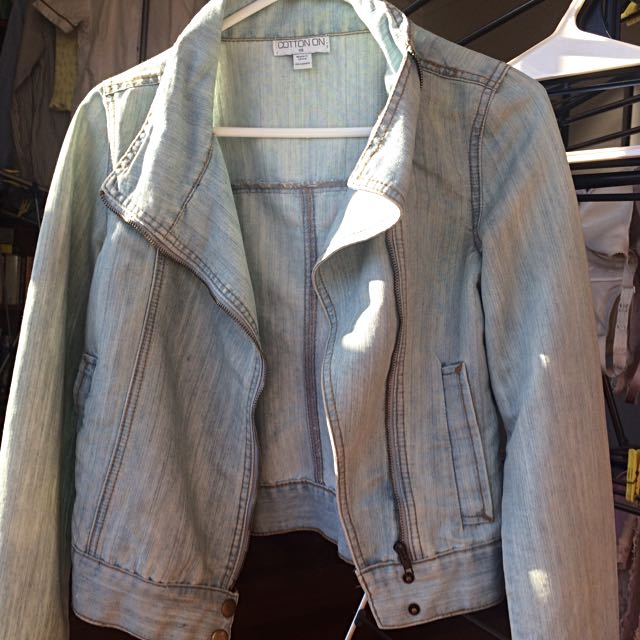 Pastel Blue Denim Jacket #under20