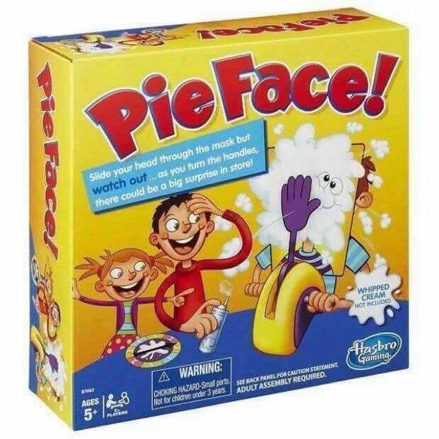 Pie Face Game ✋🏼😊
