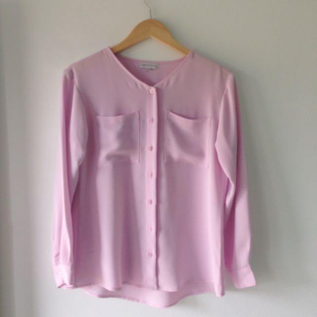 Pink Loose Shirt