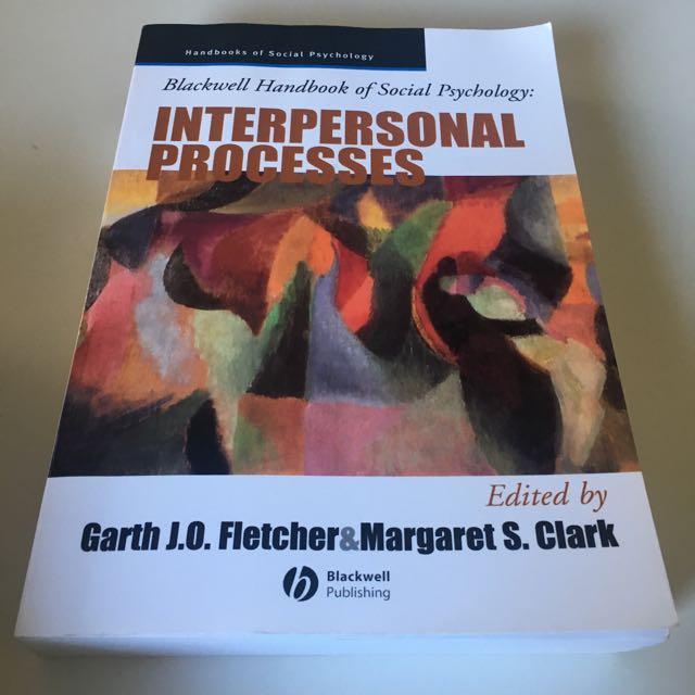 Psychology Textbook Interpersonal Processes