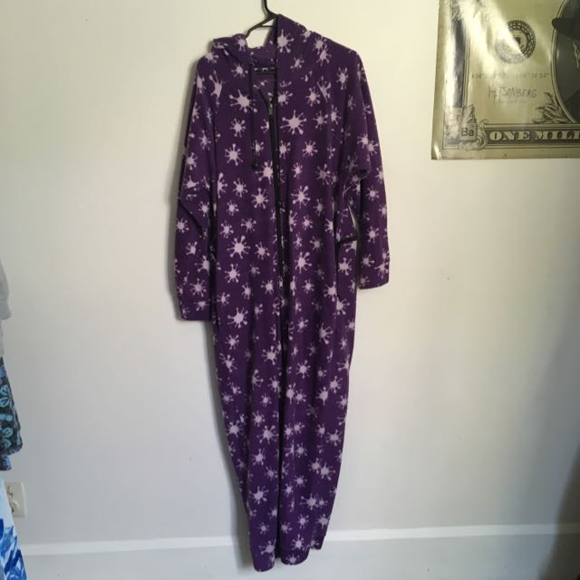 Purple Hooded Onesie #under20