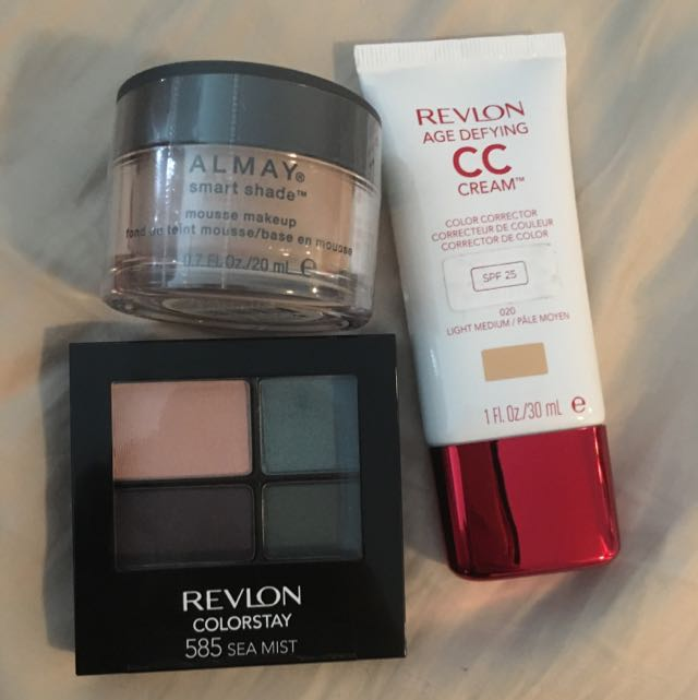 Revlon Eyeshadow, CC Cream & Foundation