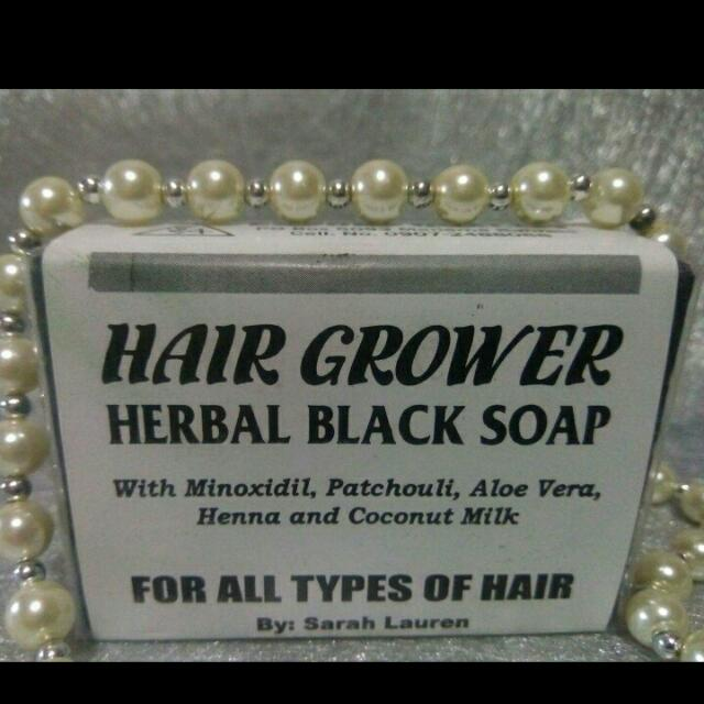 sarah lauren hair grower soap