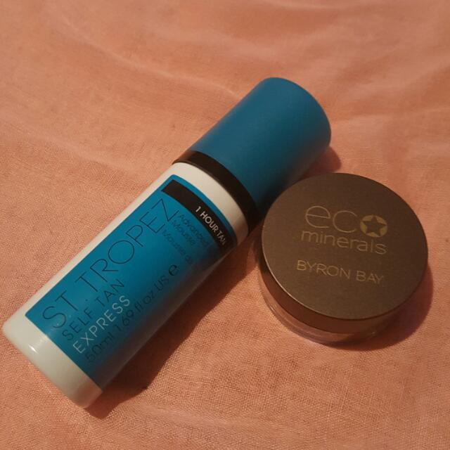 St Tropez Mousse And Eco Minerals Bronzer
