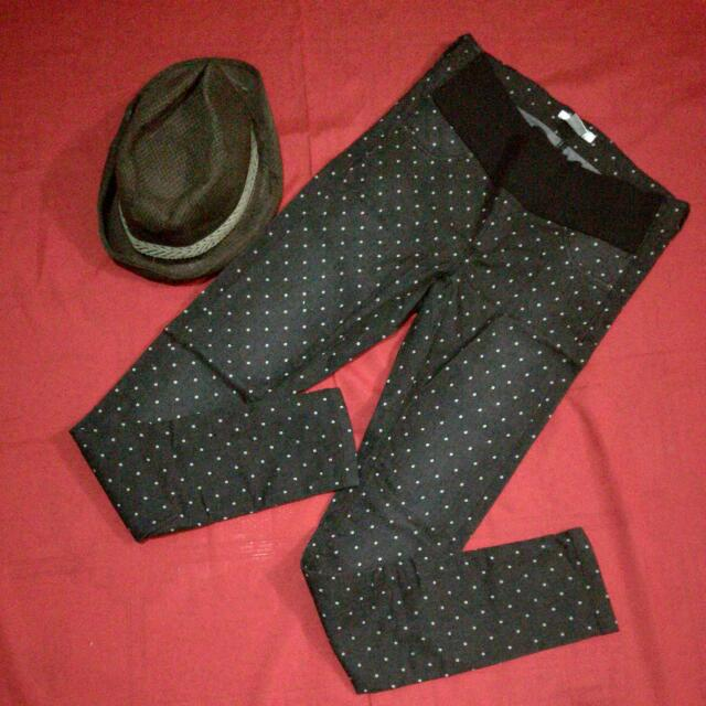 Stretchable Polka dot Pants