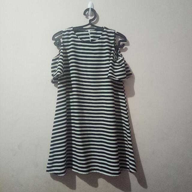 Stripes Short Dress