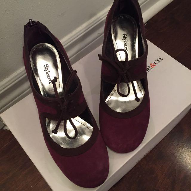 Style&Co Kitten Heels