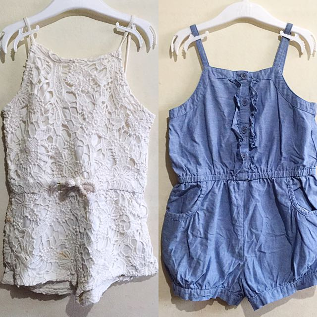 Take Both Girls Rompers / Playsuit