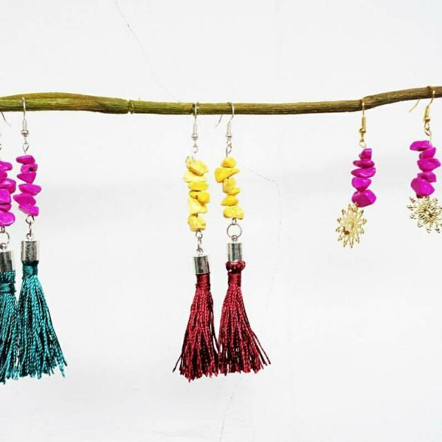 Tassel Earring Handmade