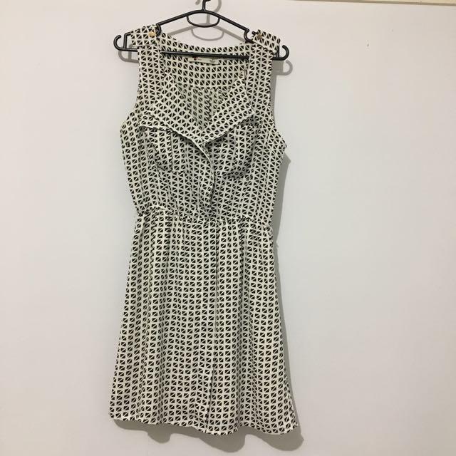 Temt Geometric Print Dress