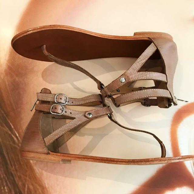 Tony Bianco Leather Sandals