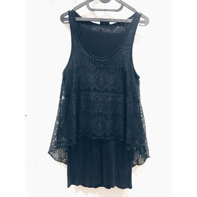 Topshop Lace Dress