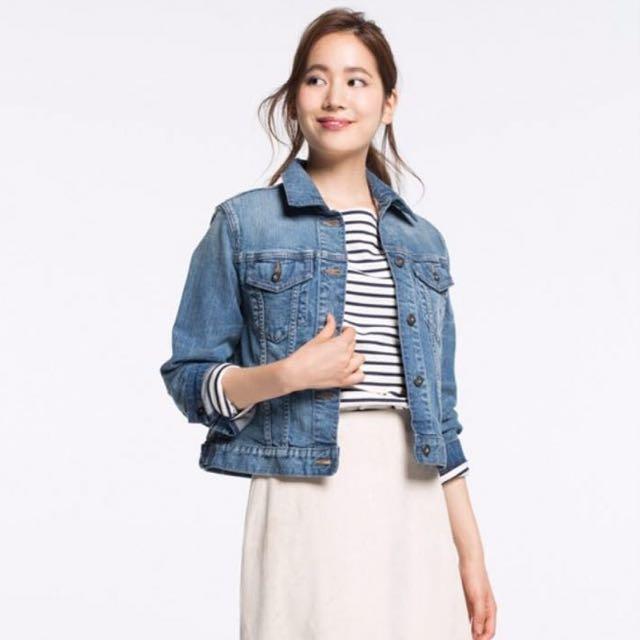 Uniqlo Women S Denim Jacket Women S Fashion Clothes Outerwear On