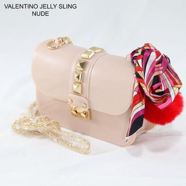 Valentino Jelly Sling (Nude)