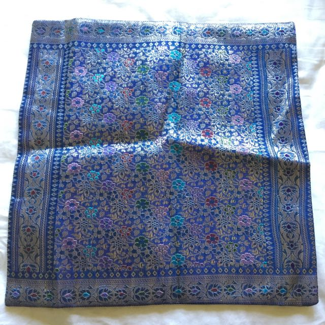 Vintage Moroccan Inspired Cushion Cover