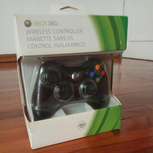 Xbox 360, Wireless Controller (Stik Xbox)