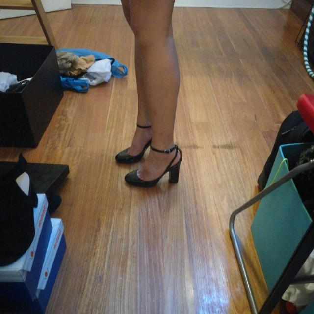 Zara Thick Heels Size 37