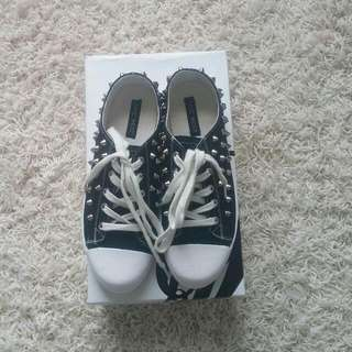 Nine West Studded Sneakers