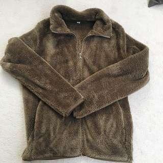 UNIQLO Brown Fleece Sweater
