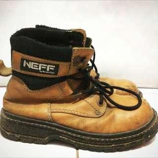 preloved sepatu boots safety