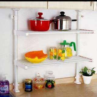 Counter Top Storage Shelf (No Drilling Required)