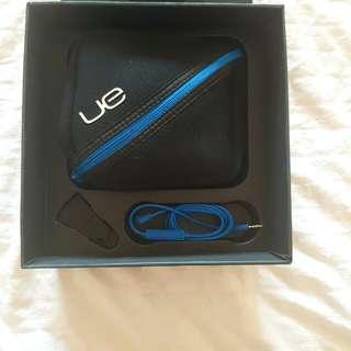 Brand New Ultimate Ears U6000 headphones (white)
