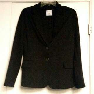 Black Stretchy Blazer