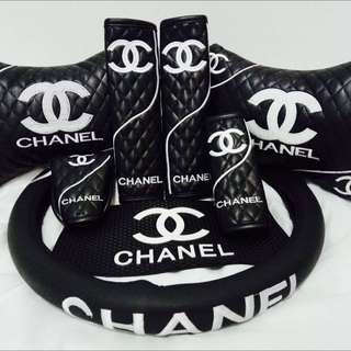 CHANEL Car Accessories Set. LIMITED EDITION