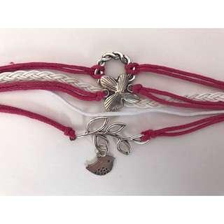 Pink Bundle Bracelet