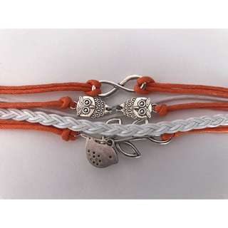 Orange Bundle Bracelet