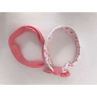 Pink Bow Headbands