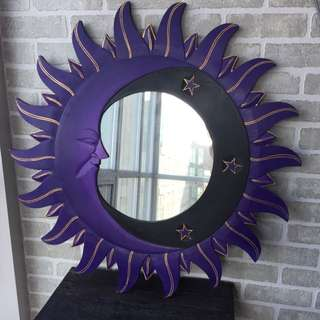 Sun And Moon Wall Mirror