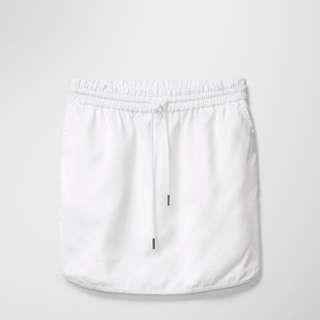 Aritzia White Mini Skirt