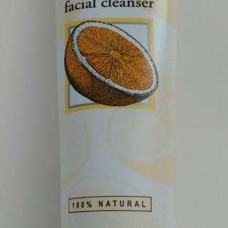 NEW Burt's Bees Orange Essence Facial Cleanser 4.3Oz