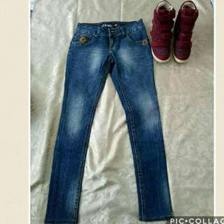 Auth Tribal Skinny Jeans