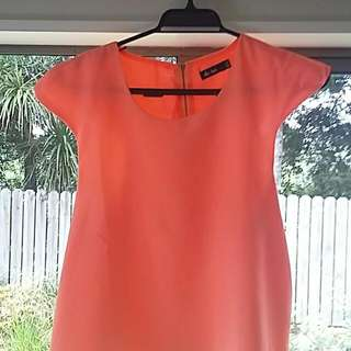 Orange Flow Top