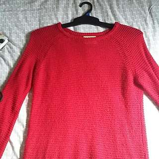 Red Cotton On Jumper