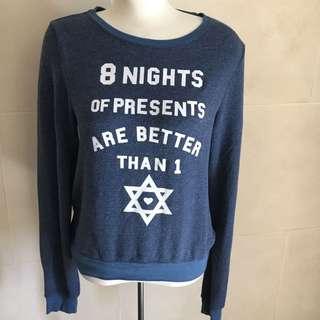 Small Wildfox Hanukkah Presents Holiday Sweater