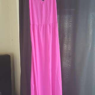 Boohoo.com Pink Dress