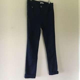 Valleygirl Navy Blue Skinny Jeans