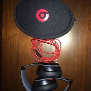 Beats Solo 2- Black