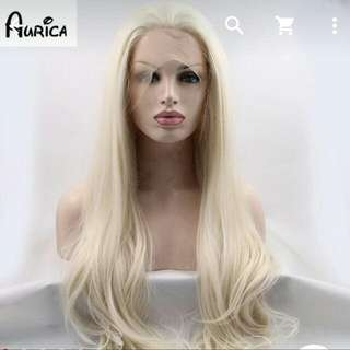 Bleach Blonde Wig