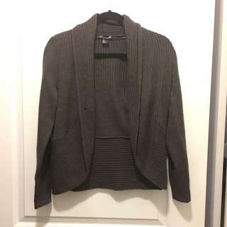 Reduced! H&M Cardigan Dark Brown Size S