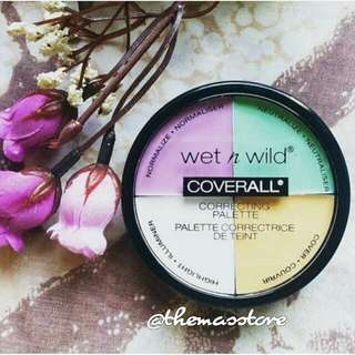 SOLD - Wet N Wild Coverall Correcting Palette