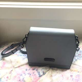 grey charles & keith bags