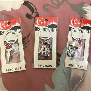 Key Chains from Singapore