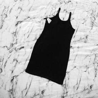 T by Alexander Wang Cotton Slip Dress Size L NWT